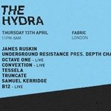 The Hydra presents Blueprint with Underground Resistance