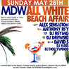 Chelsea Beach Bar All White Memorial Day Weekend party 2017