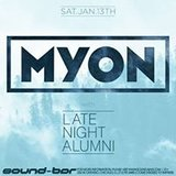 Myon w/ Late Night Alumni at Sound-Bar Chicago
