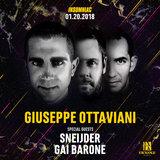 Giuseppe Ottaviani with Sneijder & Gai Barone at Exchange