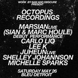 OCTOPUS RECORDINGS SHOWCASE: MARSIAN LIVE | CARLO LIO | LEE K | JUHEUN |...
